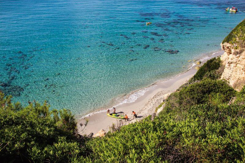 Kayak en Menorca