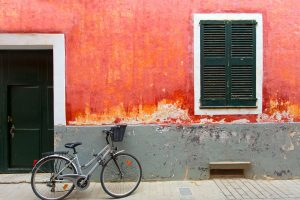 Bicicleta en Ciutadella