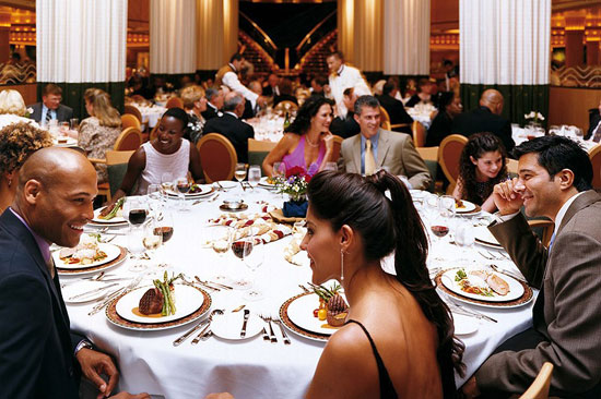 Cenas cruceros de lujo