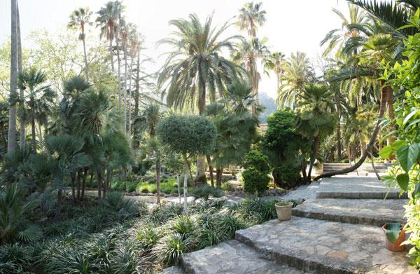 Jardines de Alfabia en Mallorca