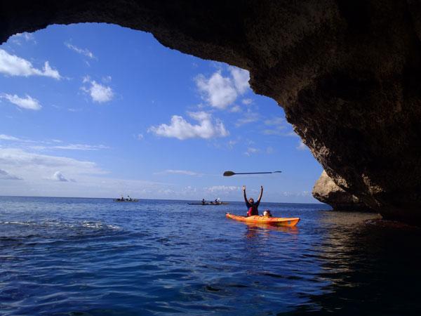 Lugares secretos de Menorca en Kayak