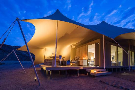 Campamento de lujo en Namibia