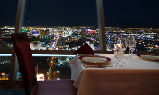Top of the world restaurant at the stratosphere