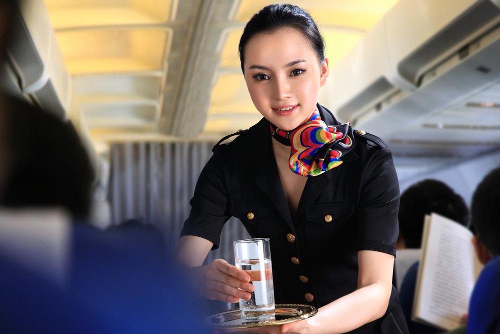 bebida en aviones