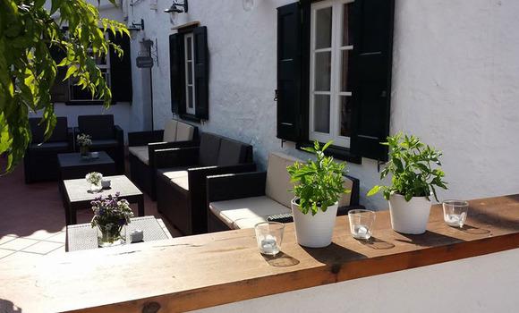 Exterior restaurante Pan y Vino