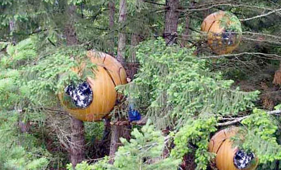 The free Spirit Spheres