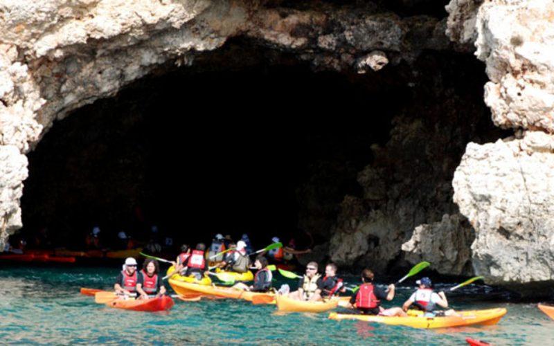 Ruta en Kayak en Menorca