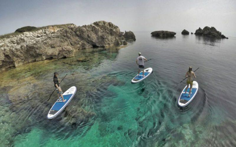 Paddle surf en Menorca