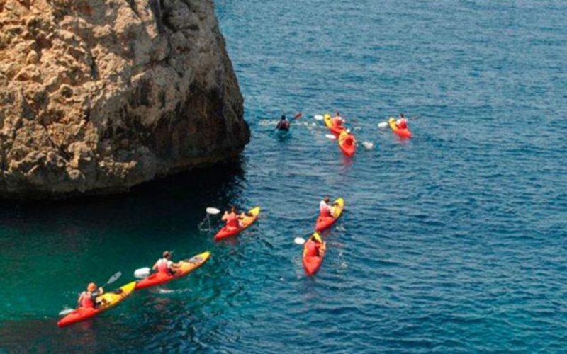 Piragua en Mallorca