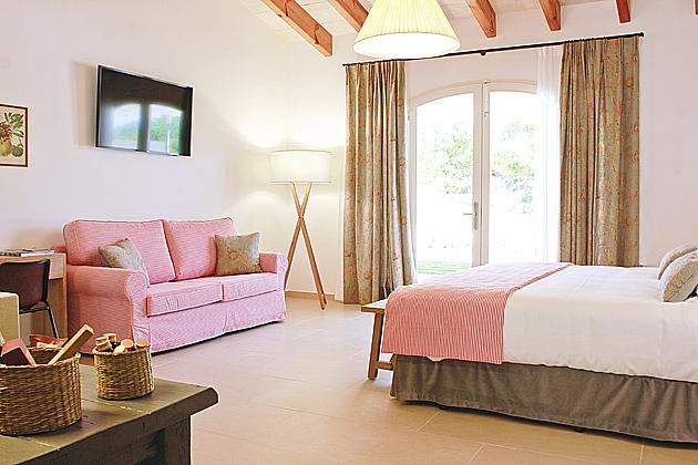 Habitación hotel Binigaus
